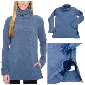 Nike Therma Fit Funnel Neck Tunic Train Pullover